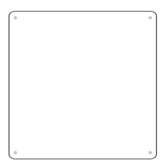 "PRE-ORDER 6"" Mini Square sign- CLOSING 8/18"