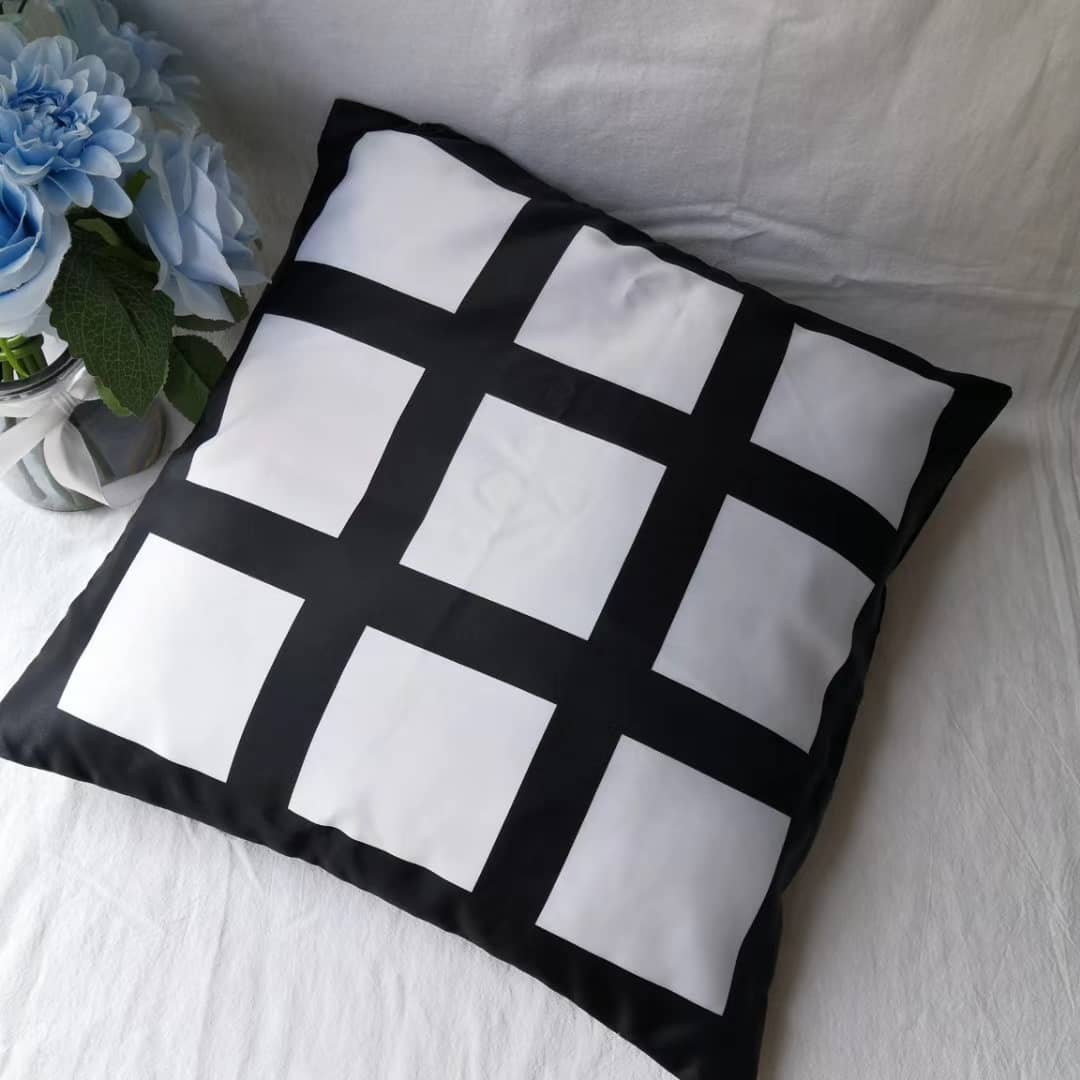 9 Panel Pillow Cover