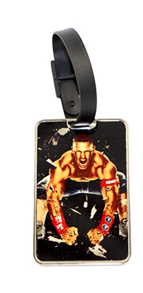 Metal Back Luggage Tag