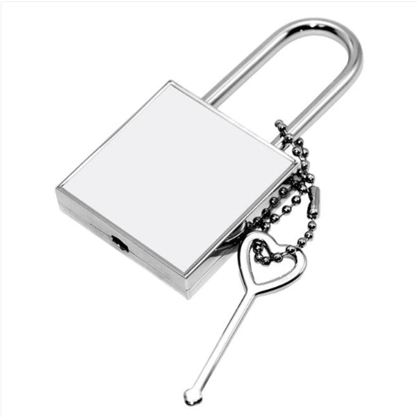 Sublimation Metal Lock Square