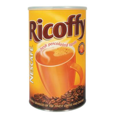 Nestle Nescafe Ricoffy - Original Large Cannister (Kosher) (CASE of 3 x 750g)