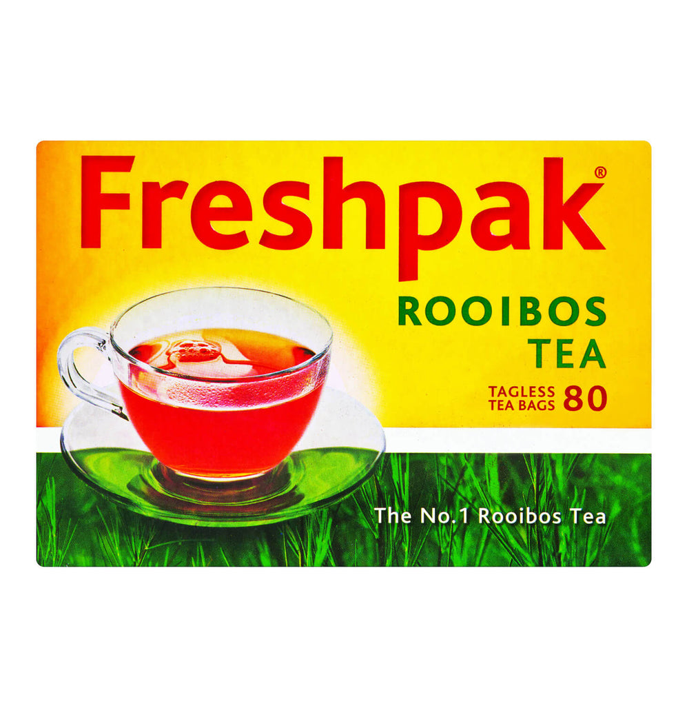 Freshpak Rooibos Tagless Tea Bags (Pack of 80) (CASE of 12 x 200g)