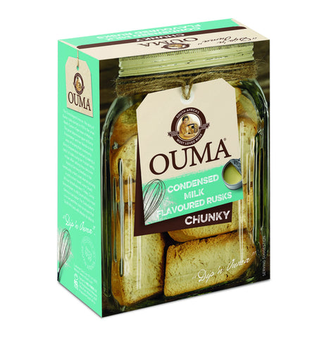 Nola Ouma Condensed Milk Flavored Chunky Rusks (CASE of 12 x 500g)