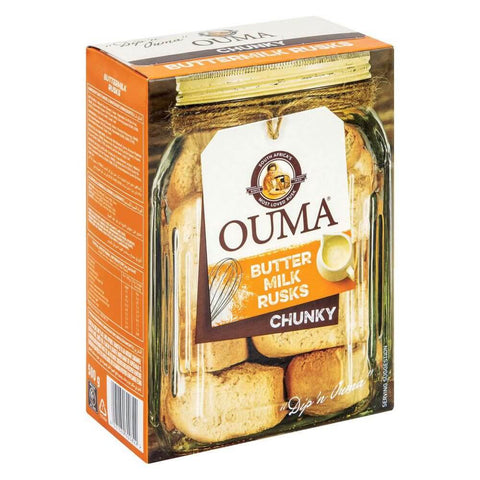 Nola Ouma Buttermilk Chunky Rusks (CASE of 12 x 500g)