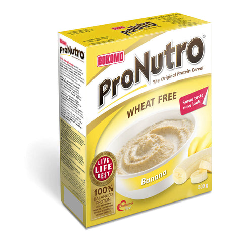 Bokomo ProNutro Banana Cereal (Kosher) (CASE of 12 x 500g)