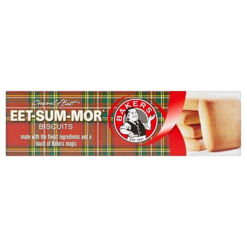 Bakers Eet Sum Mor Shortbread Biscuits (Kosher) (CASE of 12 x 200g)