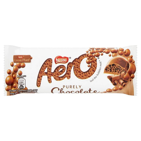 Nestle Aero -Milk Chocolate Bar (CASE of 24 x 36g)