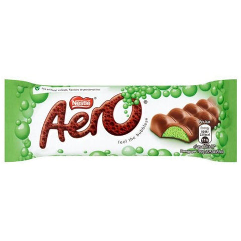 Nestle Aero Delightful Peppermint Bar (CASE of 24 x 36g)
