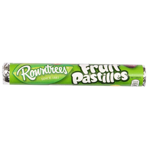 Rowntrees Fruit Pastilles - Roll (CASE of 32 x 52.5g)