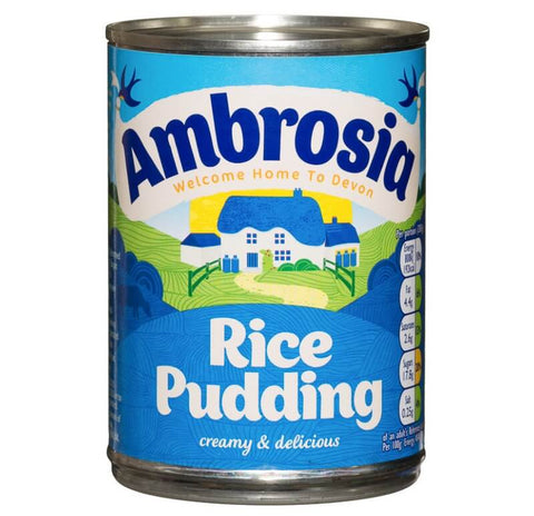 Ambrosia Rice Pudding (CASE of 12 x 400g)
