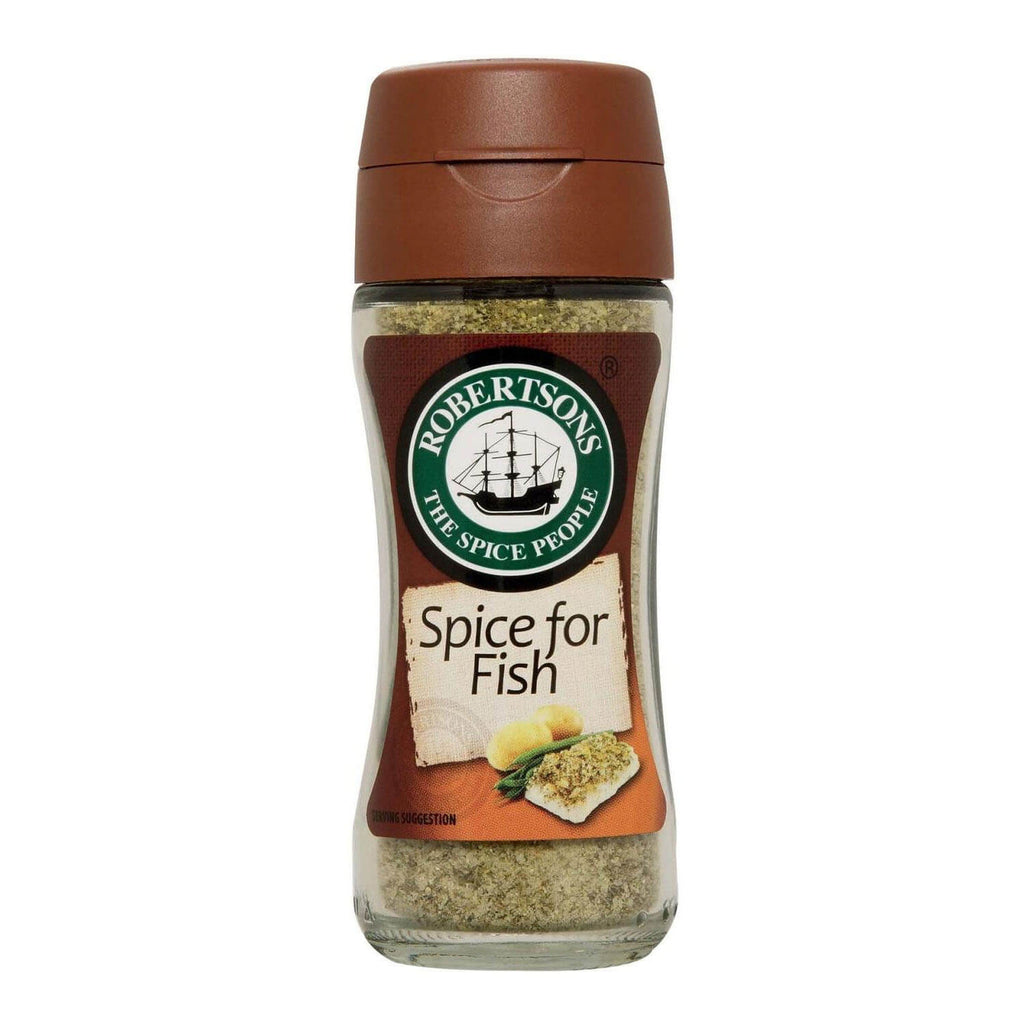 Robertsons Spice - Spice for Fish Bottle (Kosher) (CASE of 10 x 100ml)