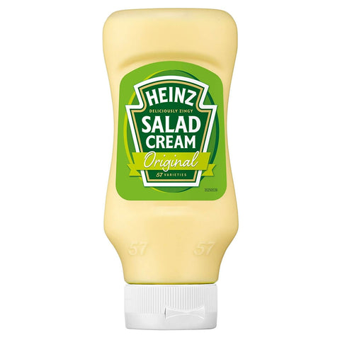 Heinz Salad Cream - Original Squeezy (CASE of 10 x 425g)