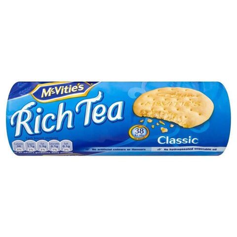 McVities Rich Tea Biscuits (CASE of 24 x 200g)