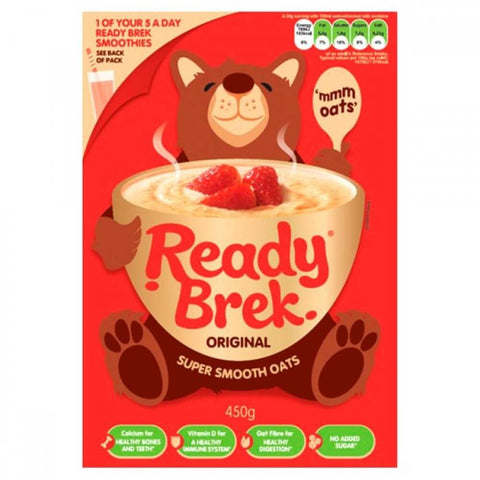 Weetabix ReadyBrek Original Super Smooth Oats (CASE of 6 x 450g)
