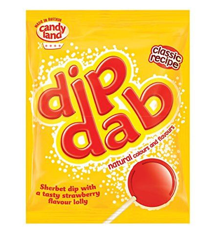 Barratt (Candyland) Sherbet Dip Dabs (CASE of 50 x 23g)