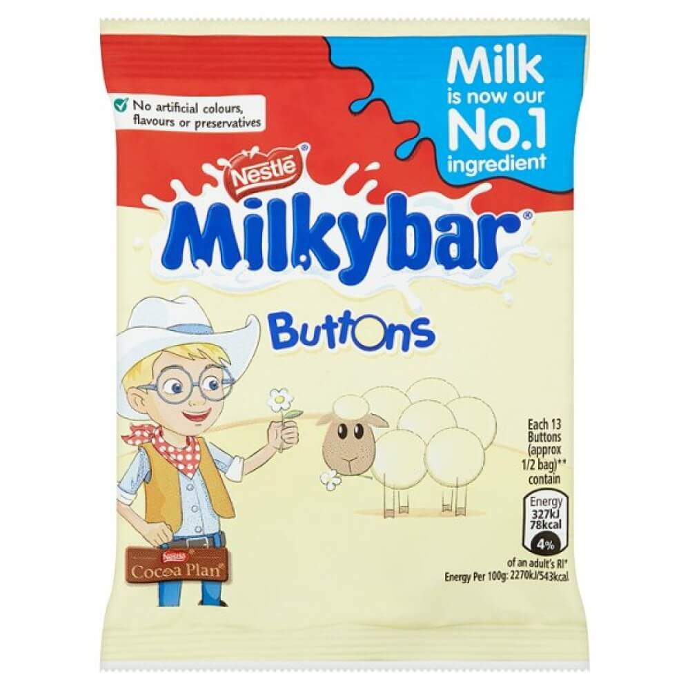 Nestle Milkybar Buttons (CASE of 48 x 30g)