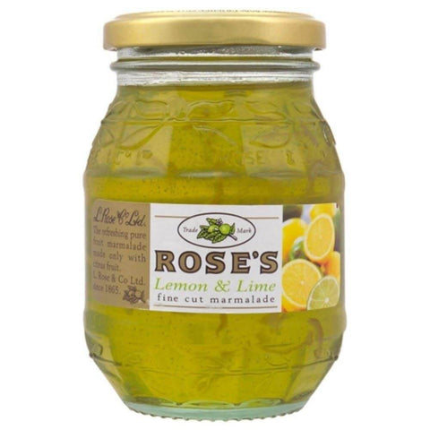 Roses Lemon and Lime Fine Cut Marmalade (CASE of 6 x 454g)
