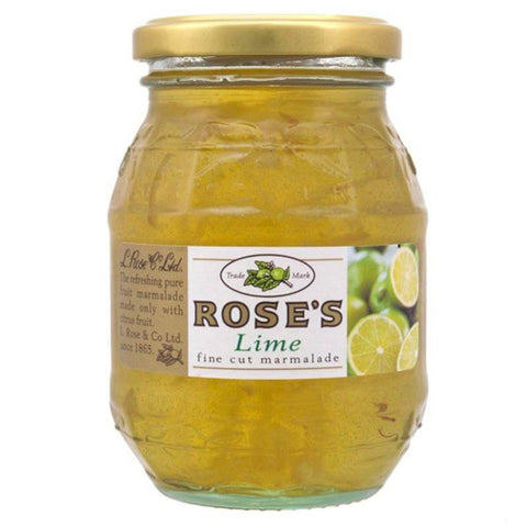 Roses Marmalade - Lime Fine Cut  (CASE of 6 x 454g)