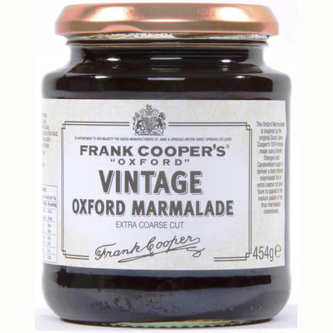 Frank Coopers Vintage Extra Coarse Cut Marmalade (CASE of 6 x 454g)