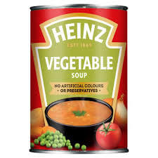 Heinz Soup - Classic Vegetable (CASE of 24 x 400g)