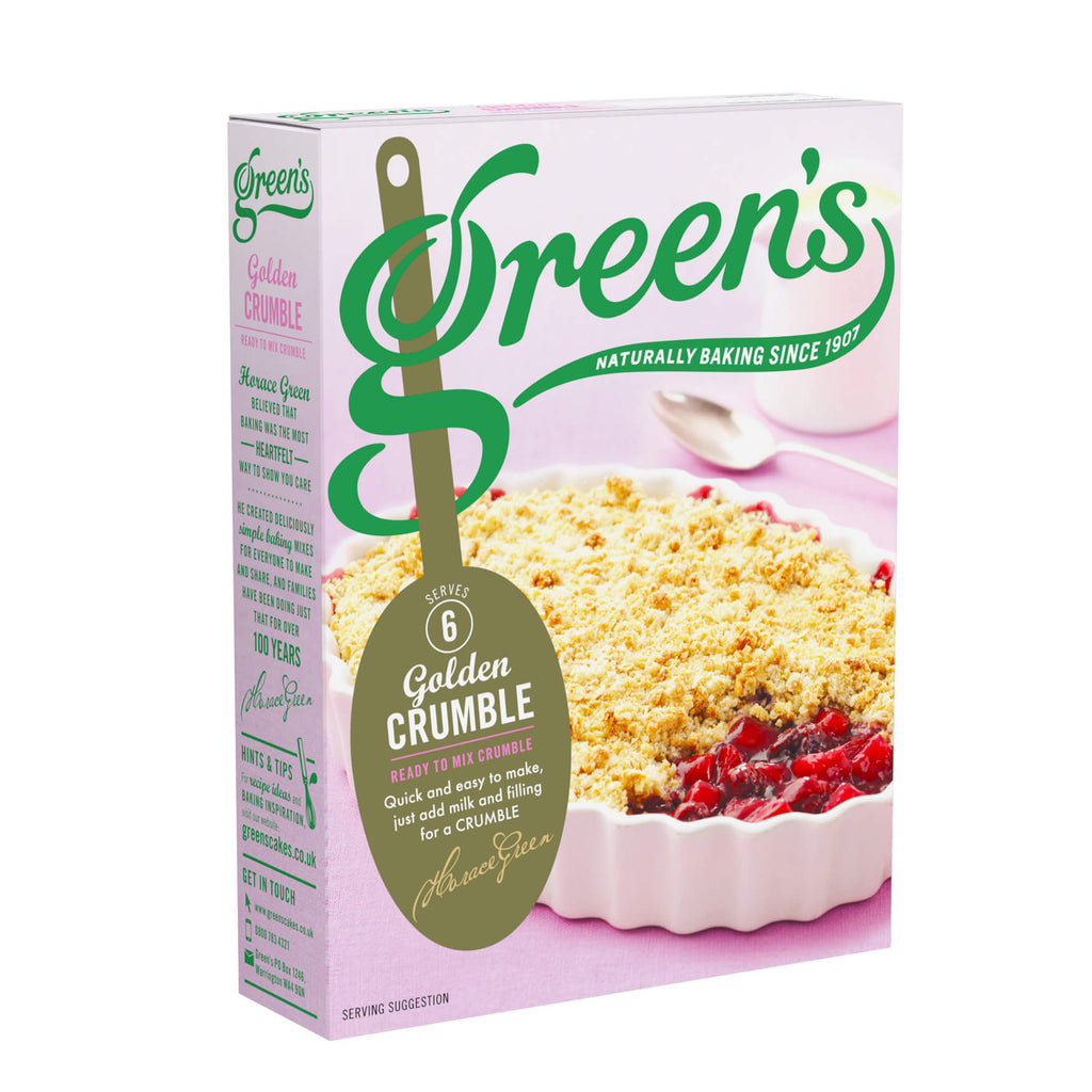 Greens Crumble Mix - Golden (CASE of 6 x 280g)