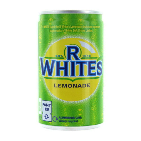 R Whites Lemonade - Premium with Real Lemons (CASE of 24 x 330ml)