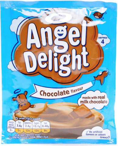 Birds Angel Delight - Chocolate Flavor (CASE of 21 x 59g)
