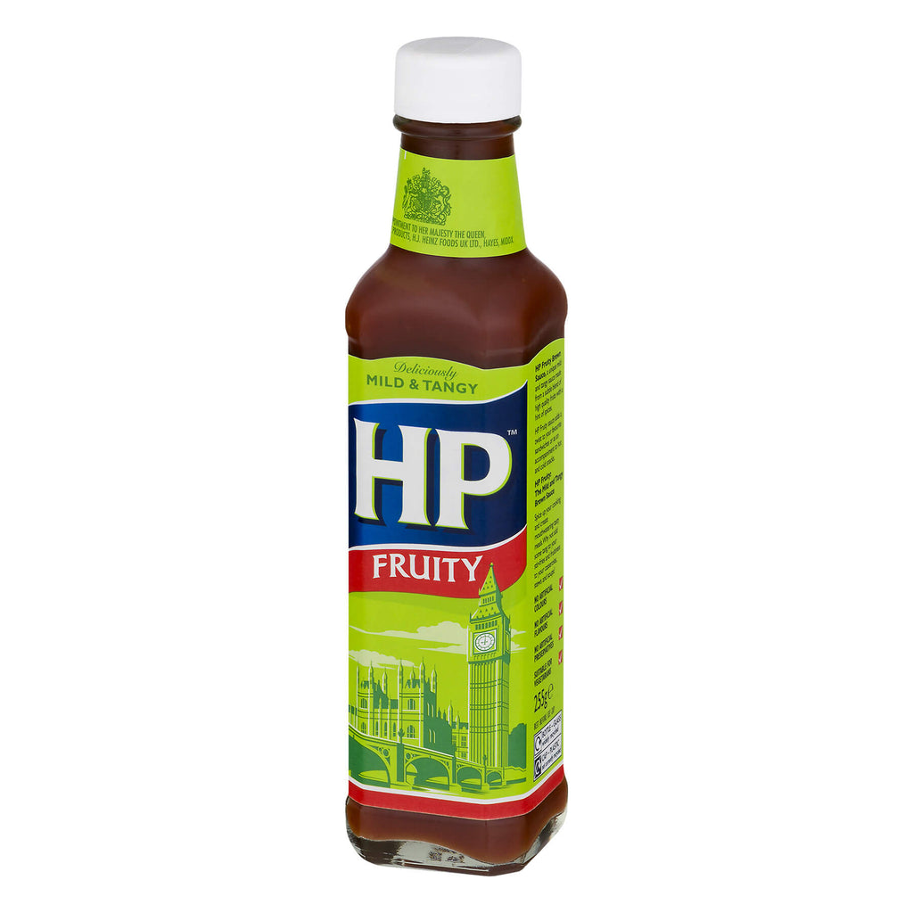 HP Fruity Sauce Mild and Tangy (CASE of 12 x 255g)