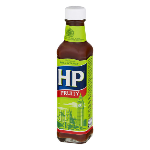 HP Sauce - Fruity Mild and Tangy (CASE of 12 x 255g)