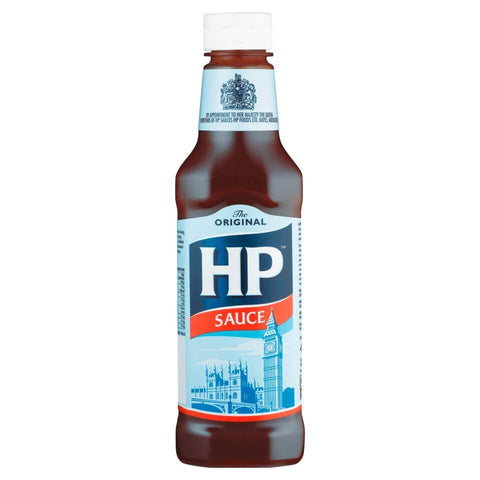 HP Sauce Original Squeezy Bottle (CASE of 12 x 425g)