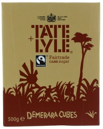Tate and Lyle Suagr - Demerara Cubes (CASE of 10 x 500g)