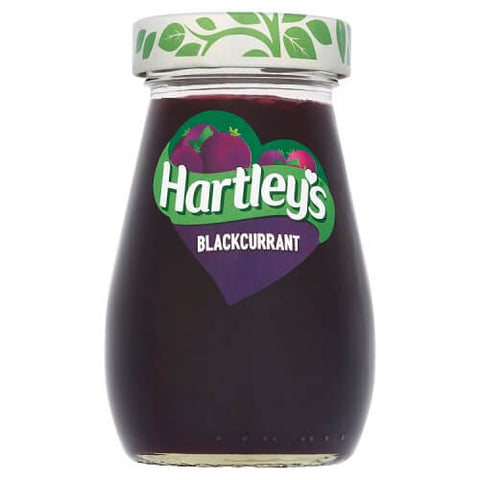 Hartleys Blackcurrant Jam (CASE of 6 x 340g)