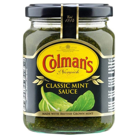 Colmans Mint Sauce (CASE of 8 x 165g)