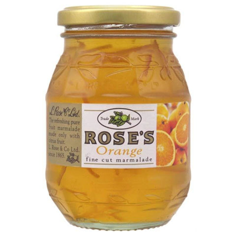 Roses Orange Fine Cut Marmalade (CASE of 6 x 454g)
