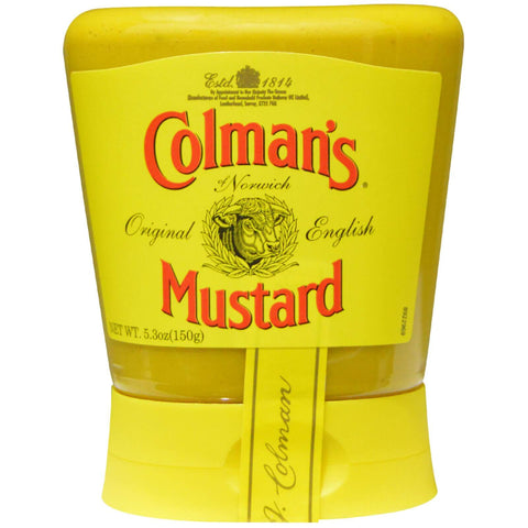 Colmans Mustard - Squeezy (CASE of 6 x 150g)