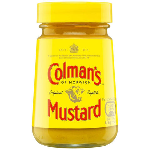 Colmans Prepared Mustard (CASE of 8 x 100g)