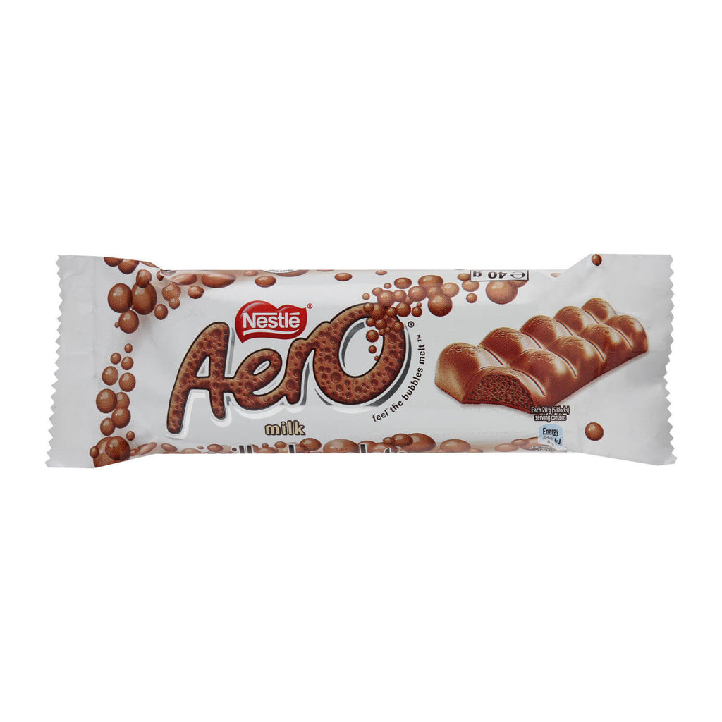Nestle Aero - Milk Chocoalte Small Bar (Kosher) (CASE of 40 x 40g)