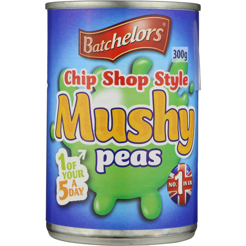 Batchelors Chip Shop Style Mushy Peas (CASE of 24 x 300g)