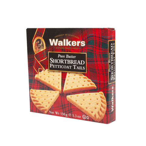 Walkers Shortbread - Petticoat Tails (CASE of 6 x 150g)