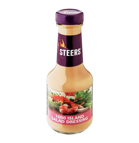 Steers Sauce -Thousand Island Salad Dressing (CASE of 6 x 375ml)