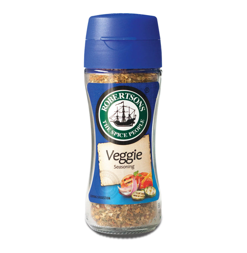 Robertsons Spice - Veggie Seasoning bottle (CASE of 10 X 66g)