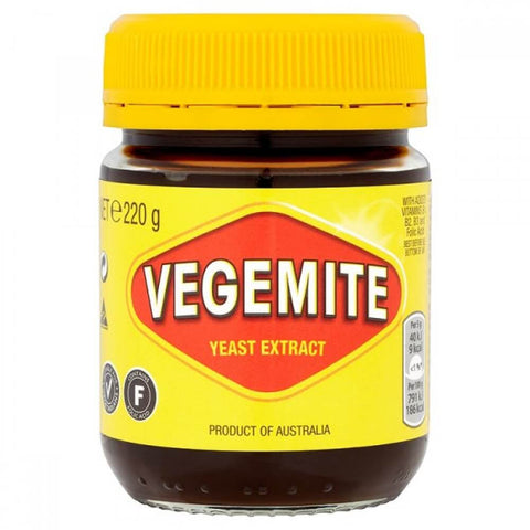 Kraft Vegemite (CASE of 12 x 220g)