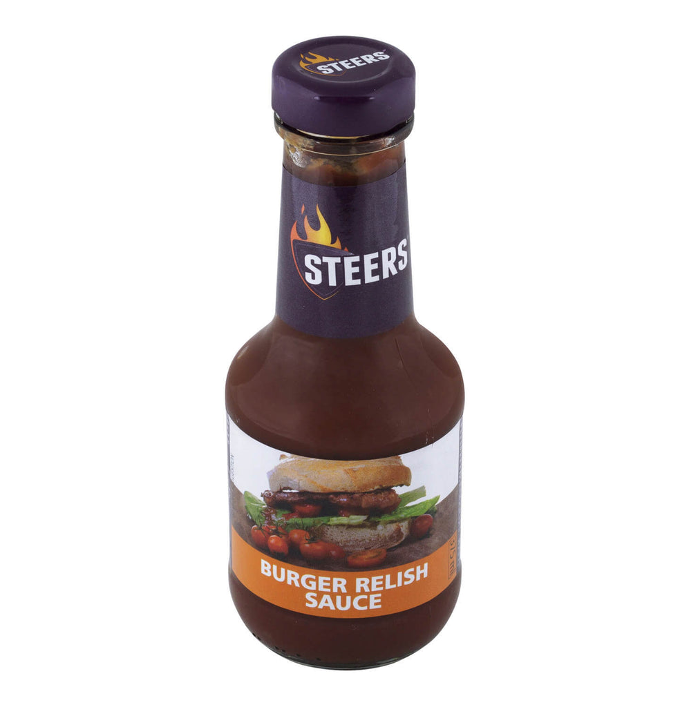 Steers Sauce - Burger Relish (CASE of 6 x 375ml)