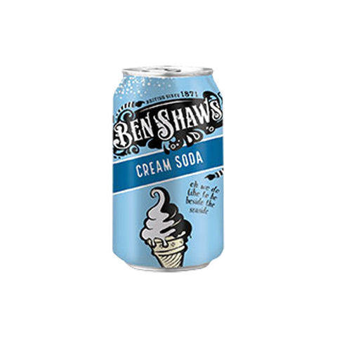 Ben Shaws Classic Cream Soda (CASE of 24 x 330ml)