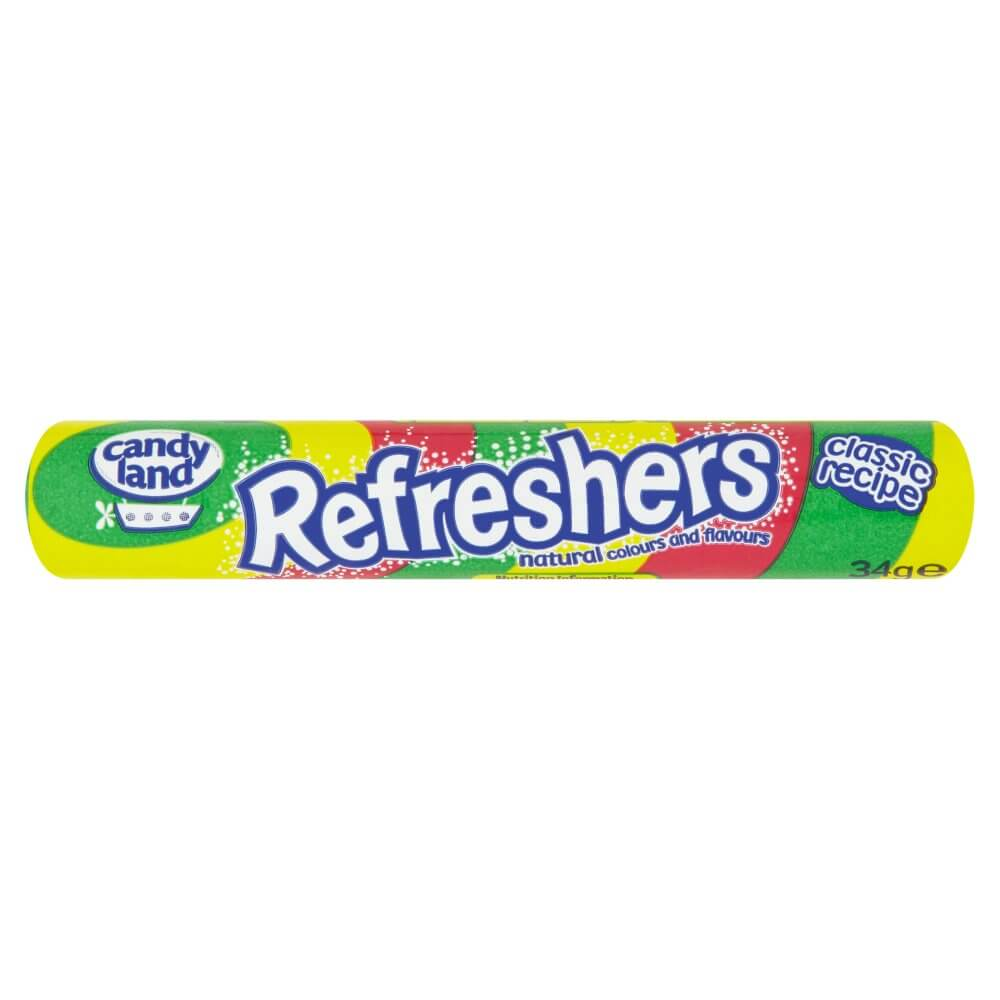 Candyland (Barratt) Refreshers (CASE of 48 x 34g)