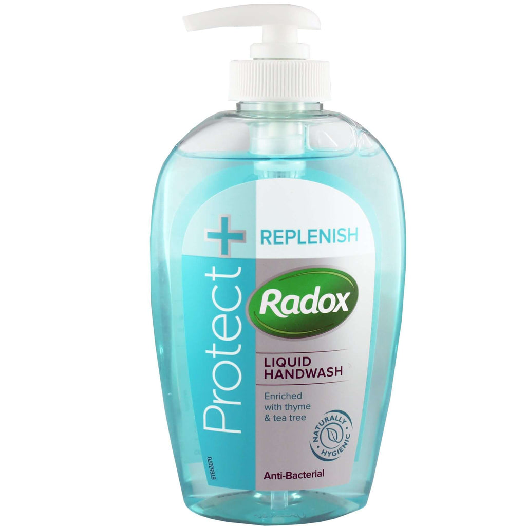 Radox Hand Wash - Replenishing and Antibacterial  (CASE of 6 x 250ml)