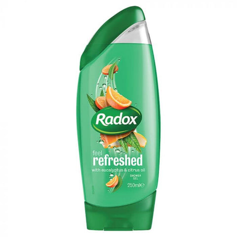 Radox Shower Gel - Feel Refreshed Shower Gel (CASE of 6 x 250ml)