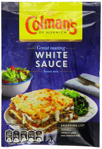 Colmans Seasoning Mix - White Sauce  (CASE of 20 x 25g)