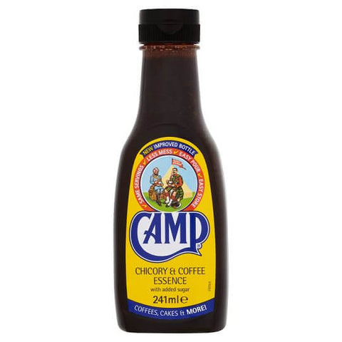 Camp Chicory and Coffee Essence with Added Sugar (CASE of 12 x 241ml)