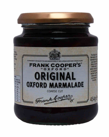 Frank Coopers Original Coarse Cut Seville Oxford Marmalade (CASE of 6 x 454g)